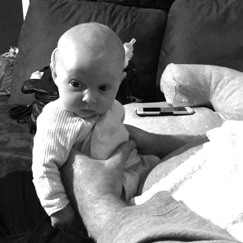 Eloise Barkla died at 12 weeks of age from SIDS
